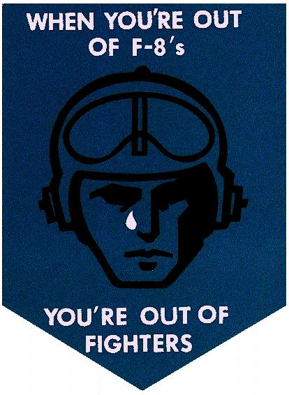 F-8 logo