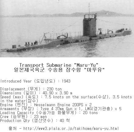 Japanese transport sub