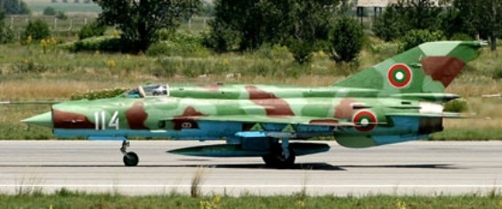Hungarian MiG-21bis