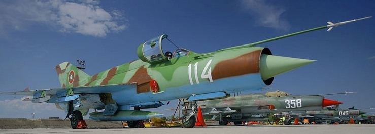 Another view MiG-21