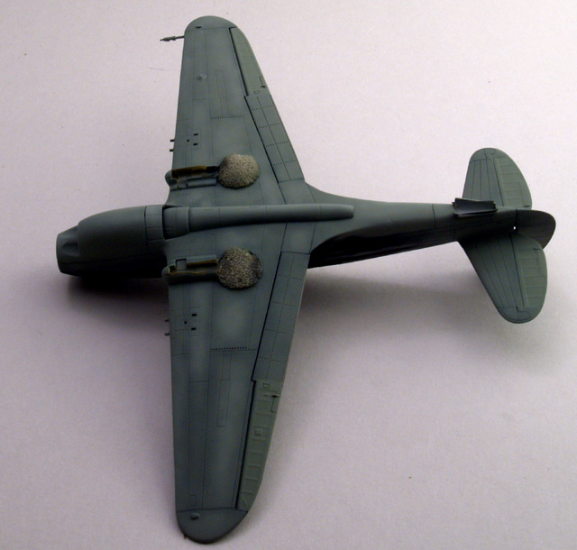 P-40 underside.
