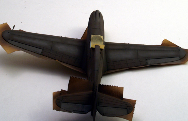 More P-40 shading