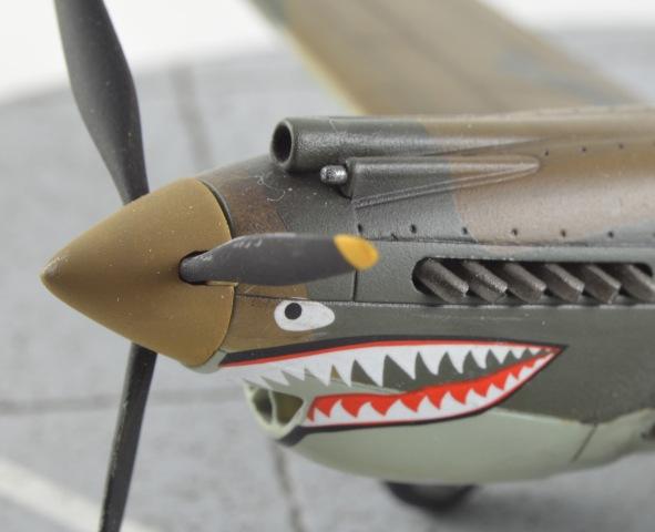 P-40 nose