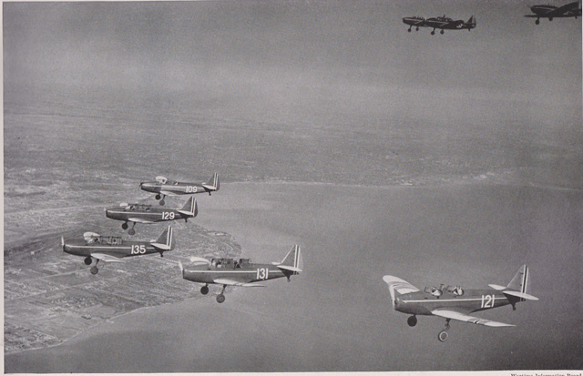 Norway's Fairchild PT-19s in Canada