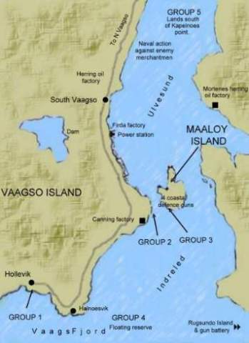 Vaagso map